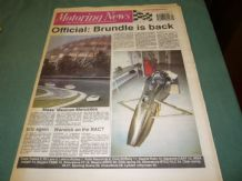MOTORING NEWS 1990 October 10 Mexico Gp C, IMSA, CART,Cork 20 Rally, BTCC,F3,F3000